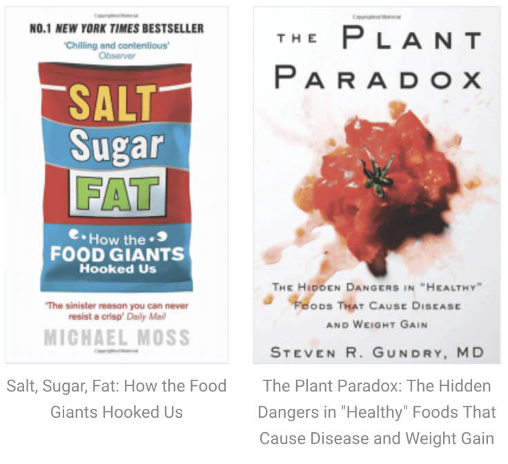 BOOKS: Nutrition / Wellness / Microbiome