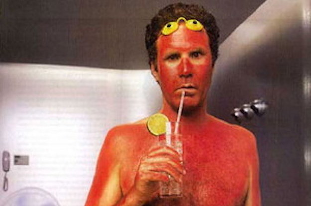 Sunburn Will Farrell