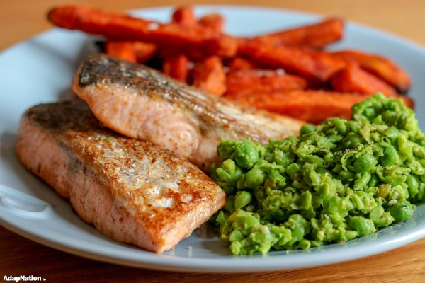 Michelle's Fish & Chips with Mushy Peas