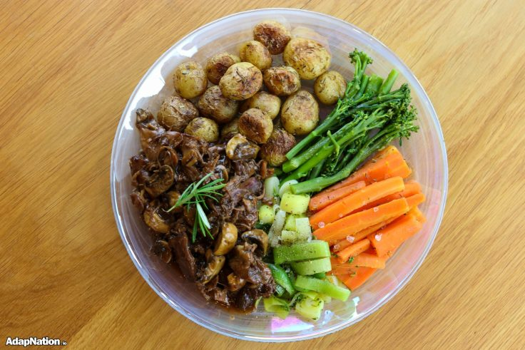 Slow Roast Lamb, New Potatoes & Tender Veg p3