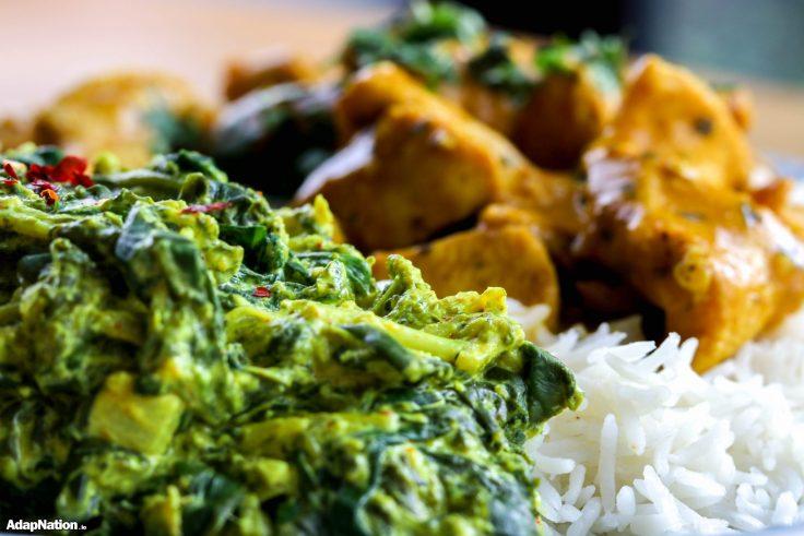 Butter Chicken & Spicy Broccoli Saag p2