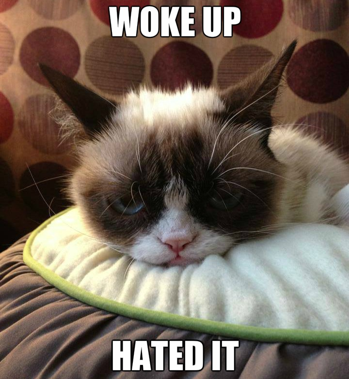 Grumpy Mornings