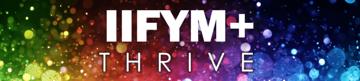 AdapNation IIFYM+ Thrive Logo