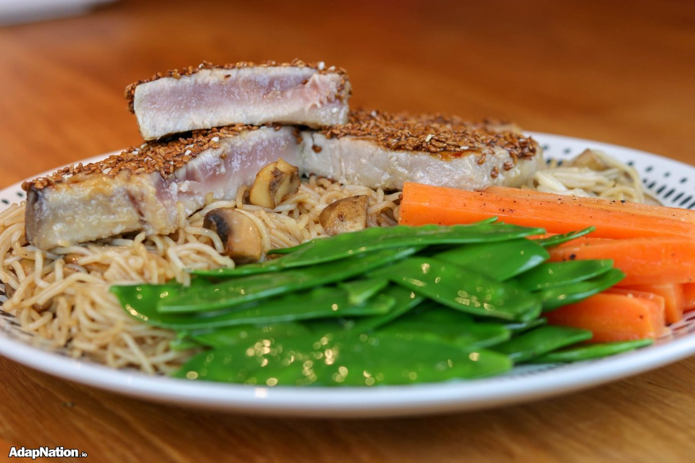Honey & Sesame Seed Tuna Steaks
