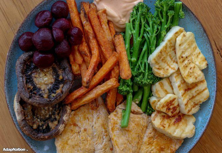 Chicken & Chips -- IIFYM+ Thrive version!