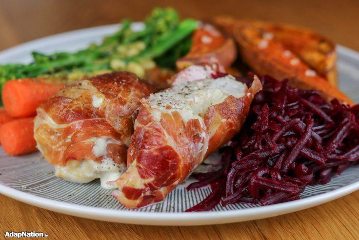 Parma Ham Wrapped Mozzarella Chicken  & SP Wedges p2