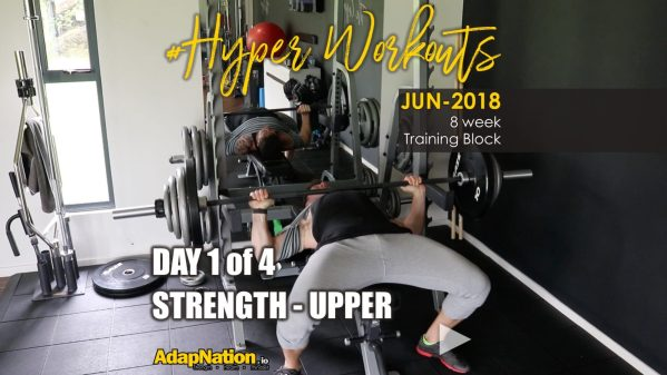 JUN-18 #Hyperworkouts - Day 1 FEATURE