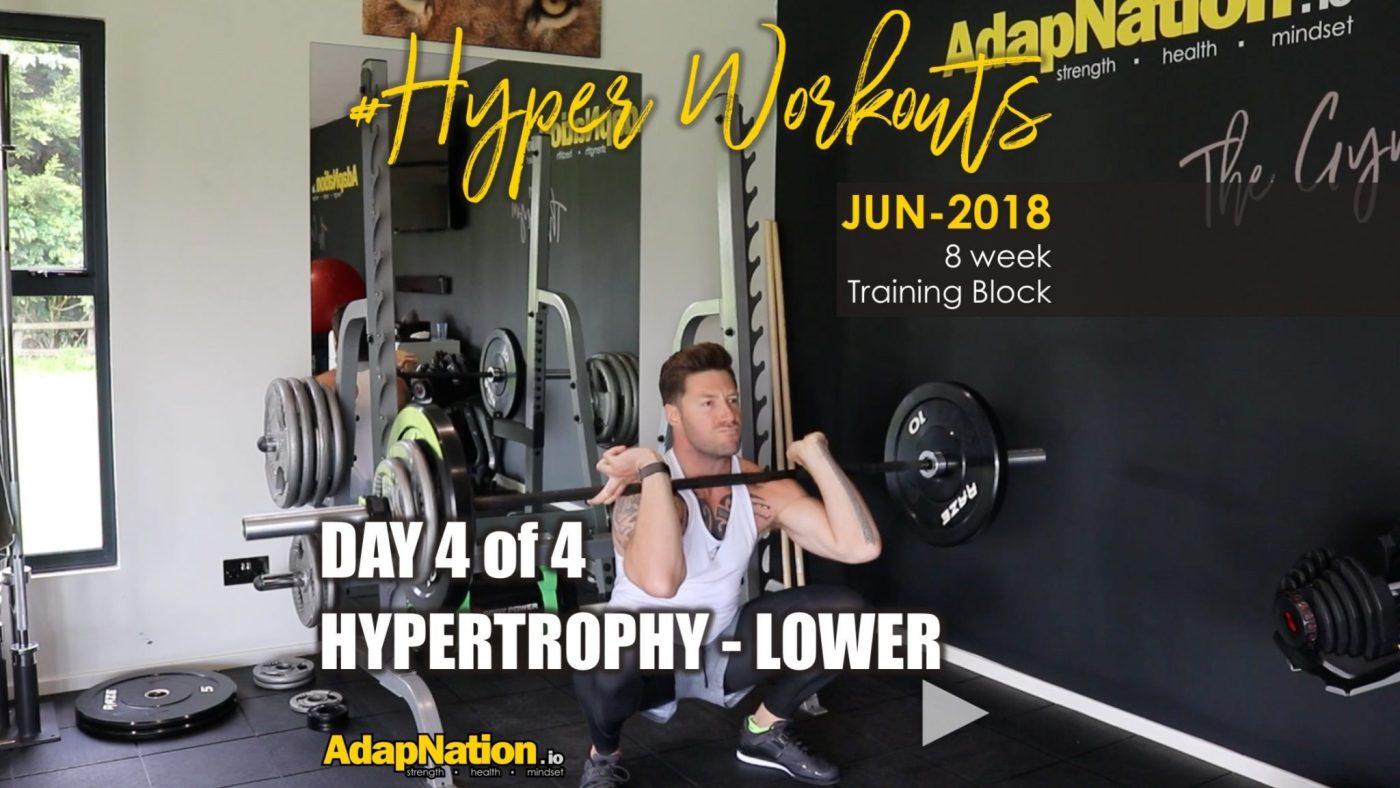 JUN-18 #HyperWoorkouts Day 4 Feature