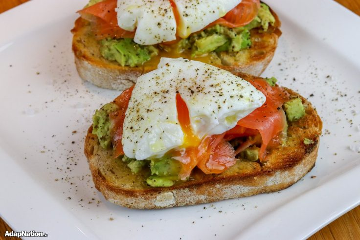 Avo Sourdough Toast with Poached Eggs p4