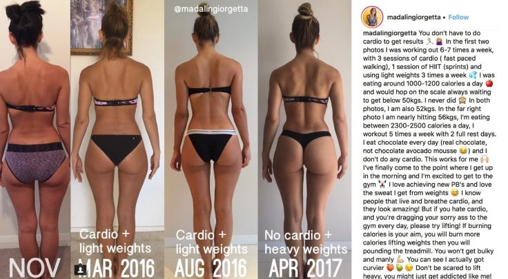 Madalin Giorgetta Before and After Strength Training part 2