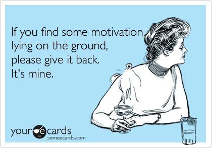 Mental cycle no motivation