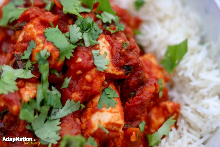 Indo-Italian Chicken Curry & Rice p2