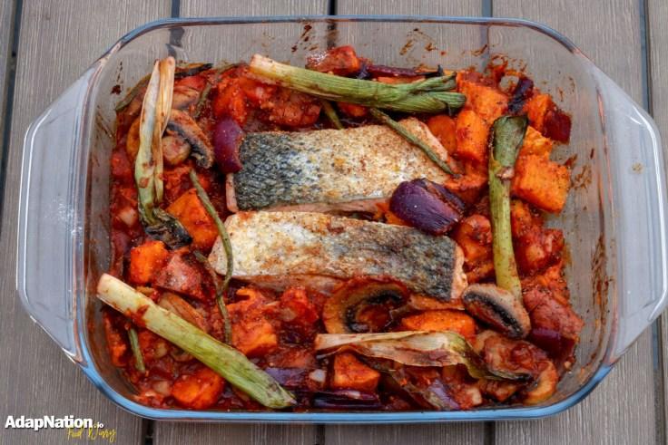 Michelle's Spicy Salmon & Sweet Potato Bake p4