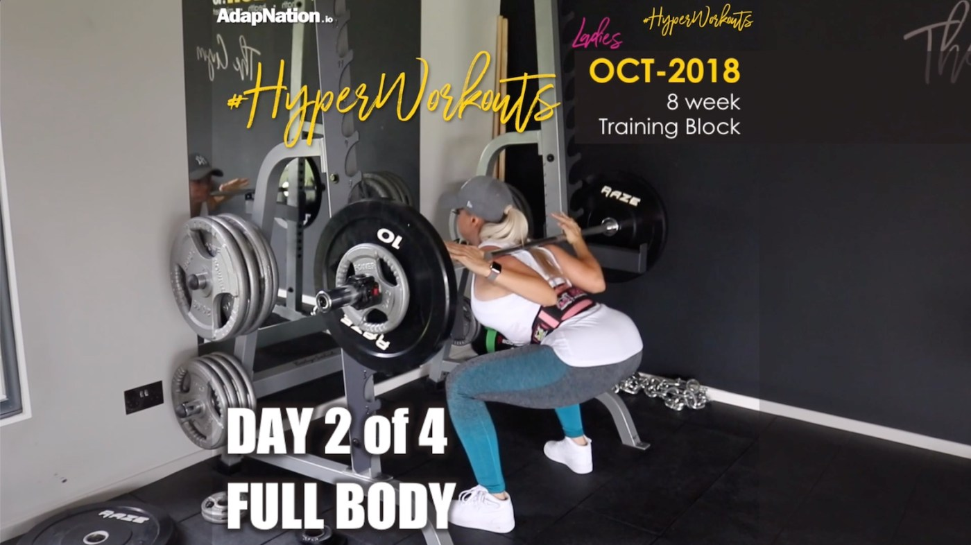 OCT-18 Ladies #HyperWorkouts - Day 2
