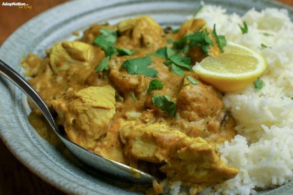 Delicious Home-Made Chicken Korma