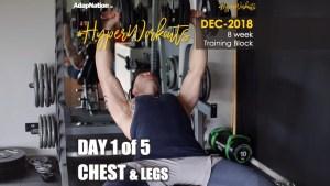 DEC-18 #HyperWorkouts – Day 1/5 – CHEST