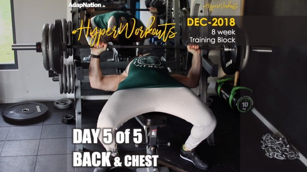 Gents DEC-18 #HyperWorkouts Back