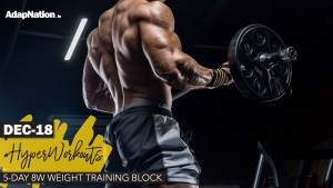 DEC-18 #HyperWorkouts – 8w Training Block