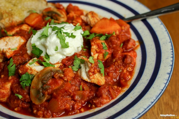 Smoky Chicken & Chorizo Stew - A Winter Warmer p2