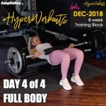DEC-18 LADIES #HyperWorkouts – Day 4/4 – FULL