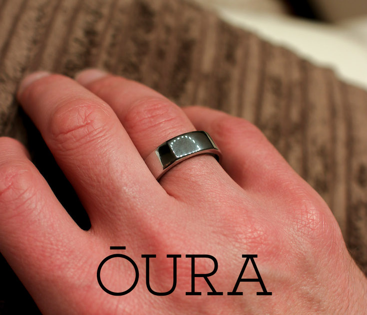 Oura Ring Silver Mens