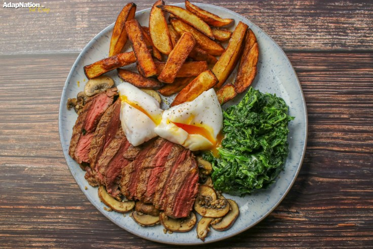 Steak Egg and Chips p4