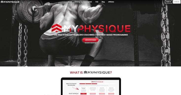 MyPhysique.io