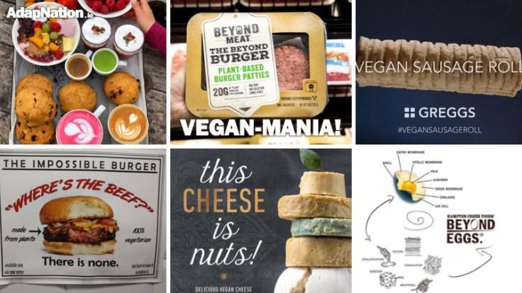 Vegan-Mania Trends
