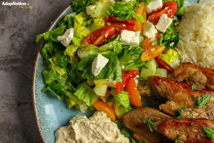 Mediterranean Lamb Steaks & Greek Salad p3