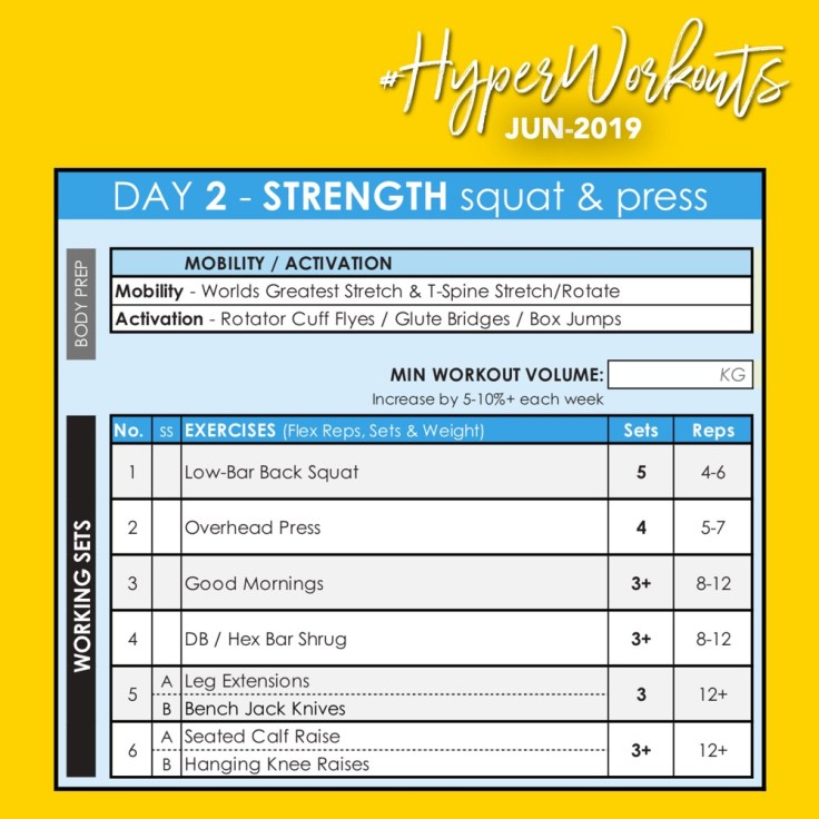JUN-19 HyperWorkouts - Day 2