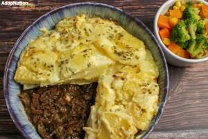 Ox Tail & Potato Dauphinois Pie (to share)