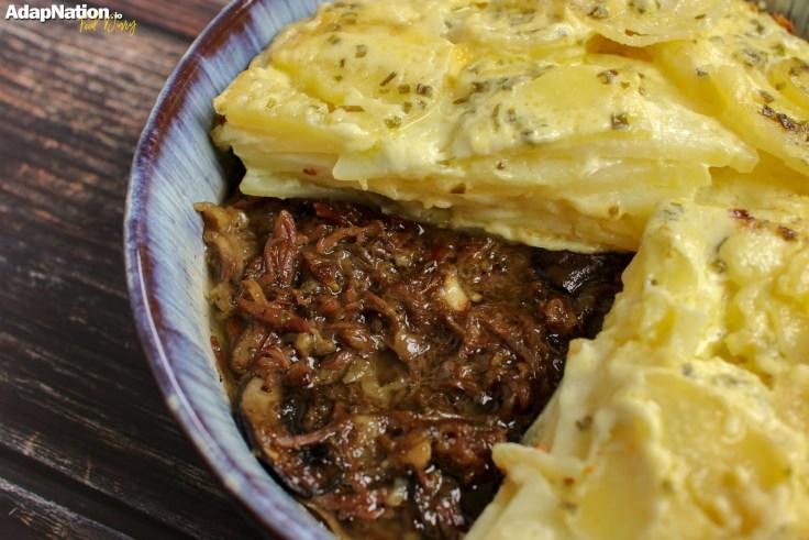 Ox Cheek & Potato Dauphinois Pie p2