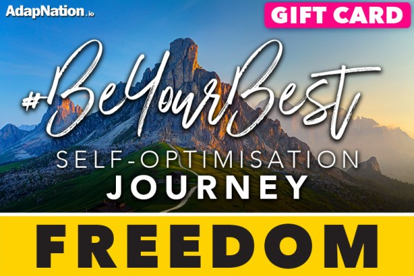 #BeYourBest Self-Optimisation Journey - Freedom Gift Card