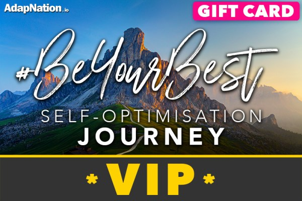#BeYourBest Self-Optimisation Journey - Vip Gift Card