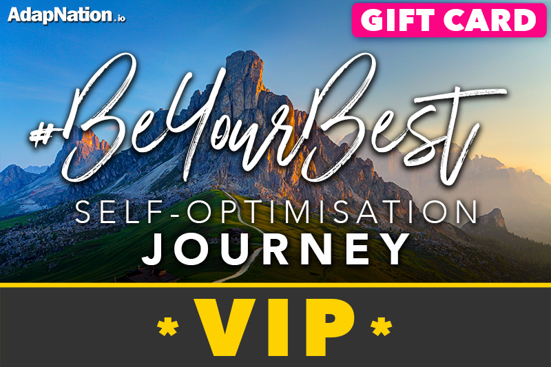 #BeYourBest Self-Optimisation Journey - Vip Gift Card