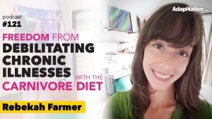 #121: Freedom from Debilitating Chronic Illnesses with Carnivore/Keto  ~Rebekah Farmer