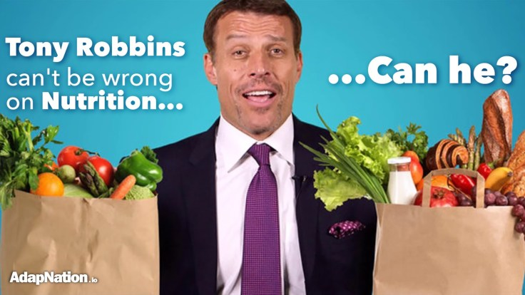 Is Tony Robbins Diet Good for you?