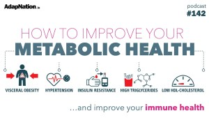 #144: How to Improve Your Metabolic Health  ~Bryn & Steve