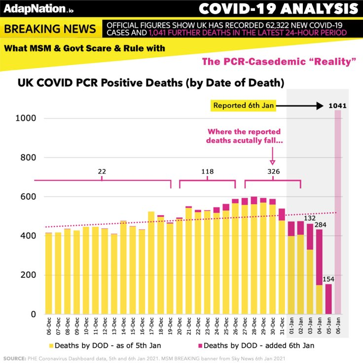 UK 1,041 COVID Deaths - the truth