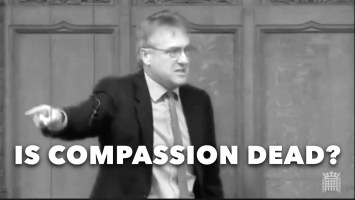 Charles Walker talking about lack of compassion