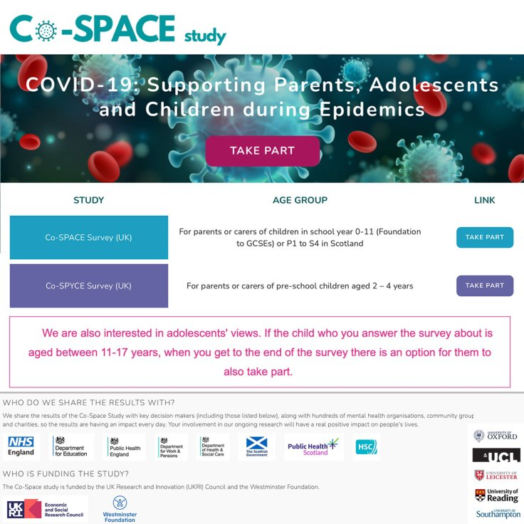 A study that gives kids a voice during the COVID Pandemic