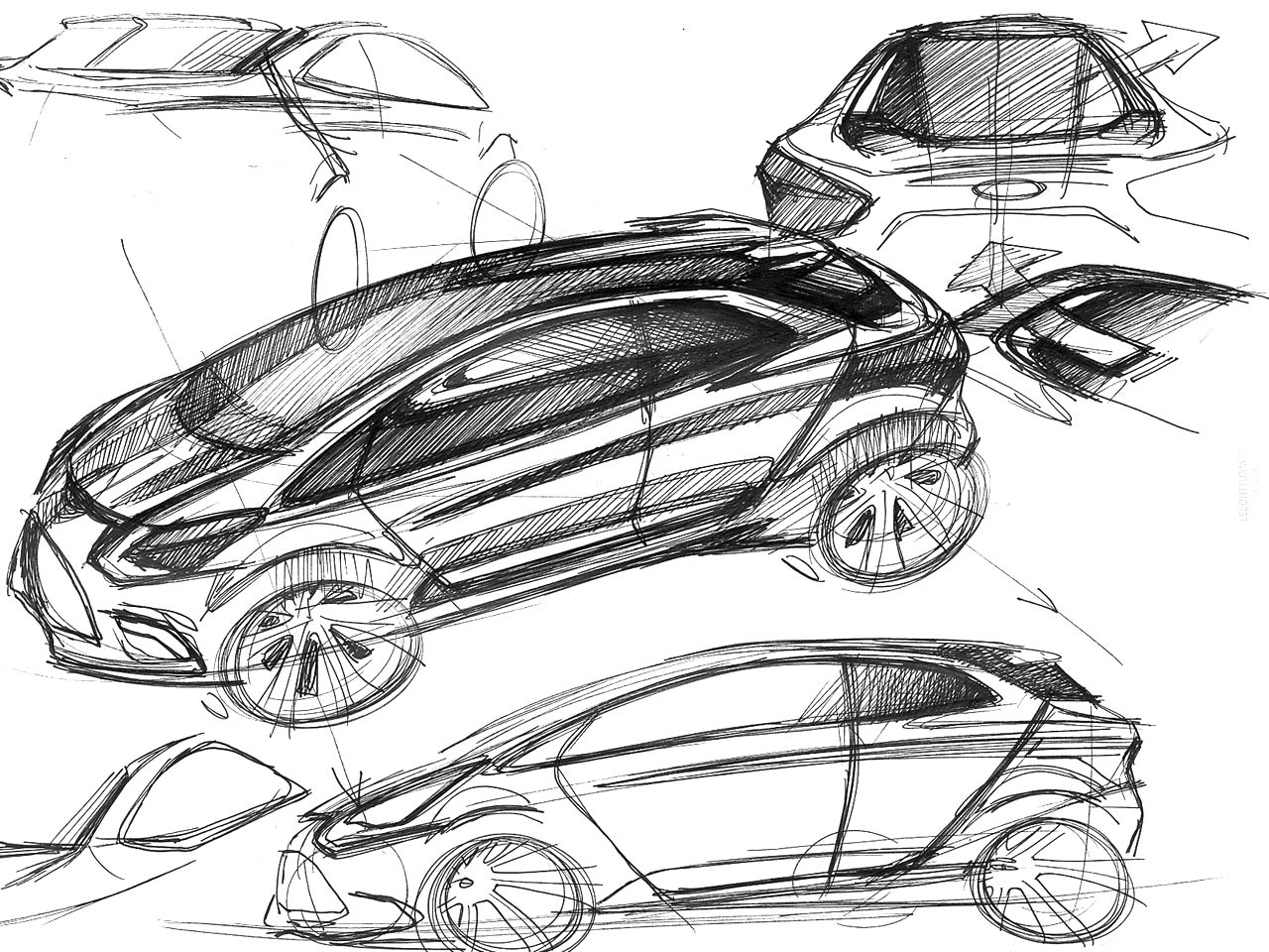 Types Of Sketching Adapt And Design