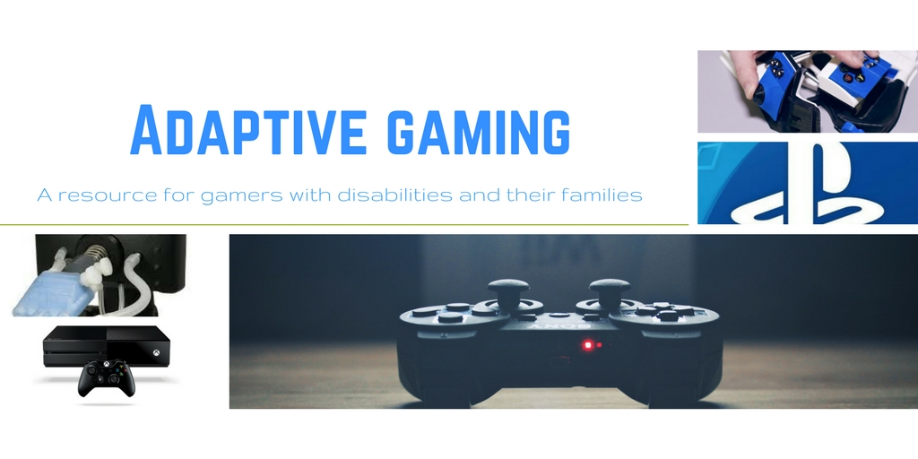 Adaptive gaming quadriplegic paralysis