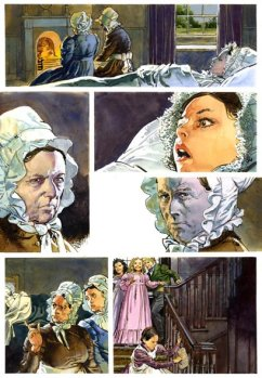 Artwork presented without text. Image retrieved from https://bearalley.blogspot.com/2008/10/jane-eyre-classical-comics.html
