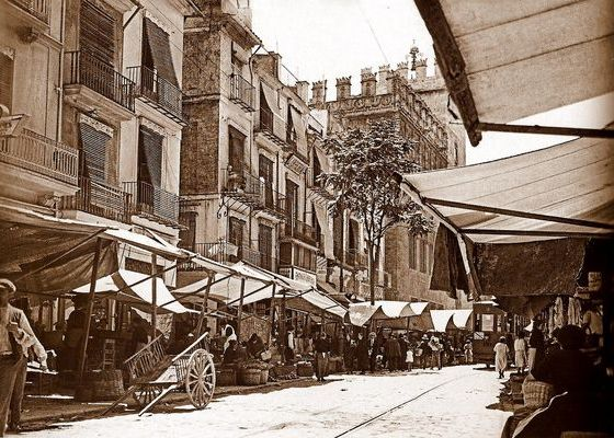 mercado lonja de valencia