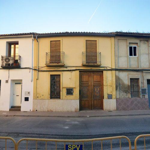 Fachada de vivienda en Rafelbunyol