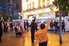 Impromptu public dances in Shanghai