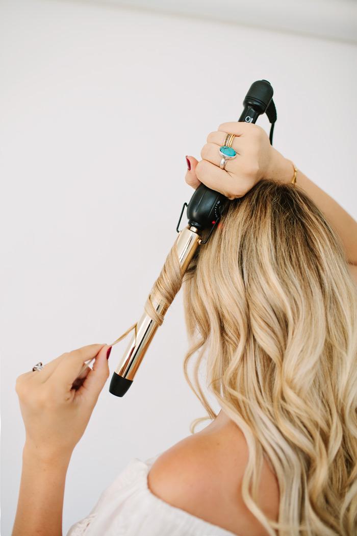 Mermaid Beach Waves Hair Tutorial Dash Of Darling