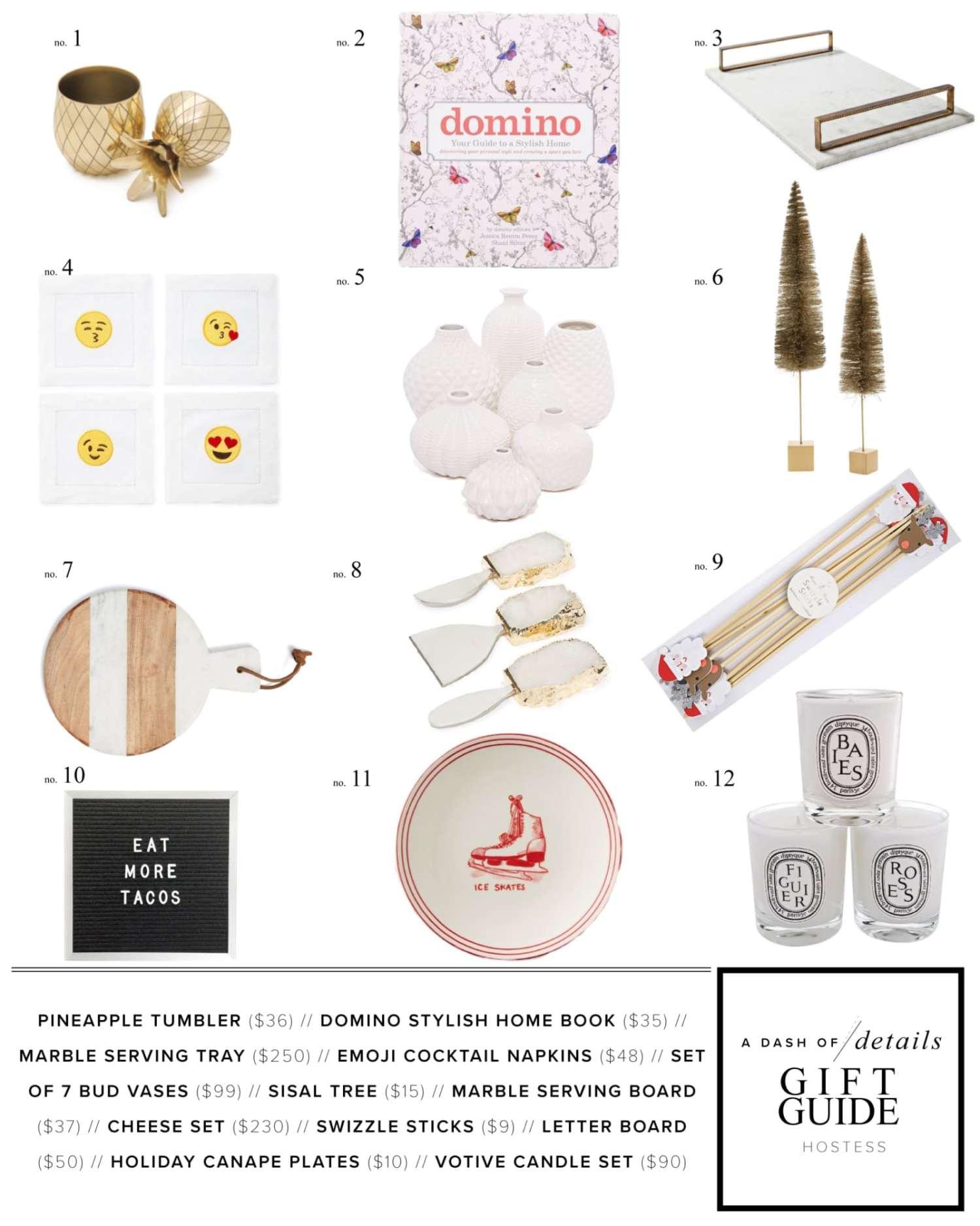 Hostess Gift Guide