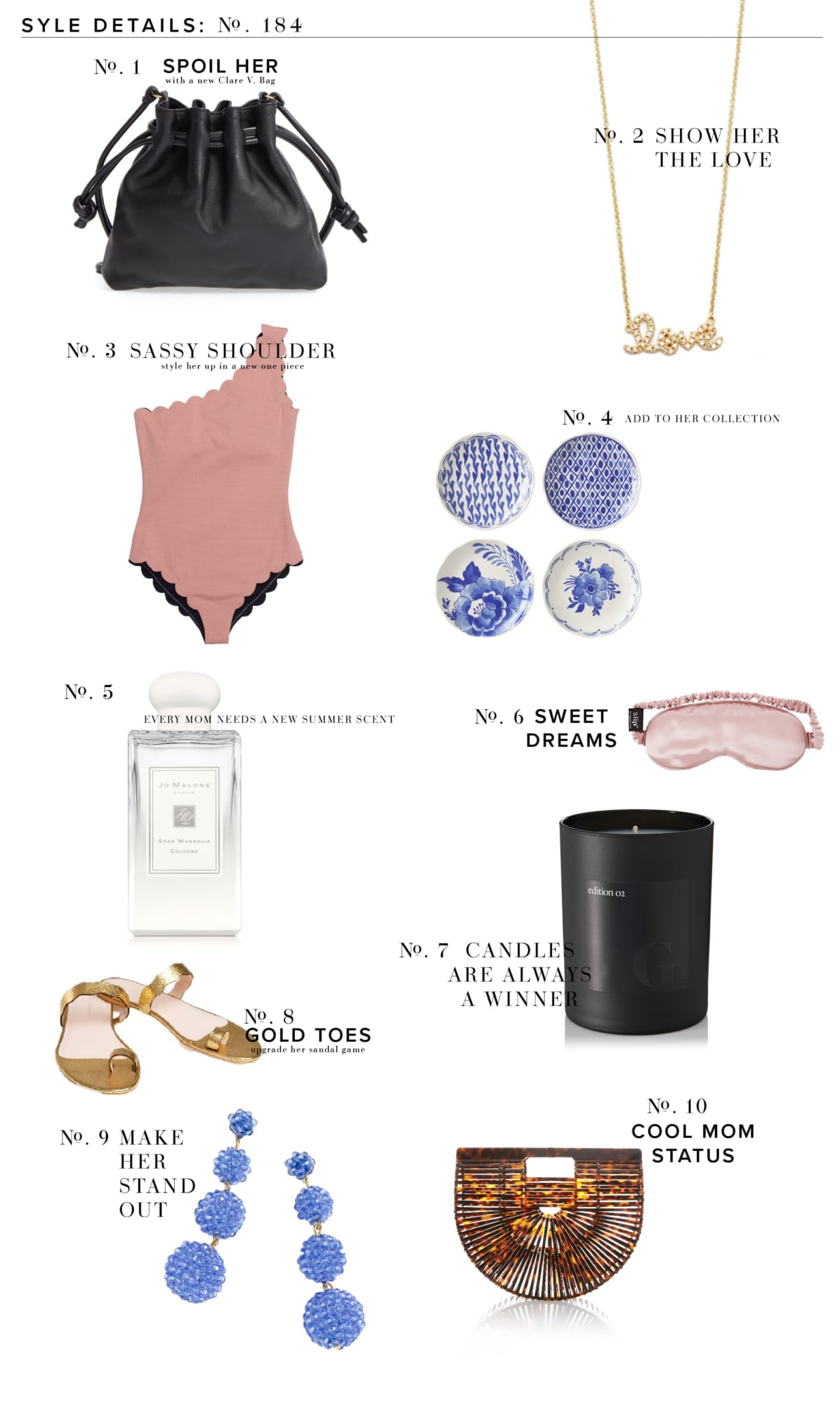 Mother's Day Style Guide